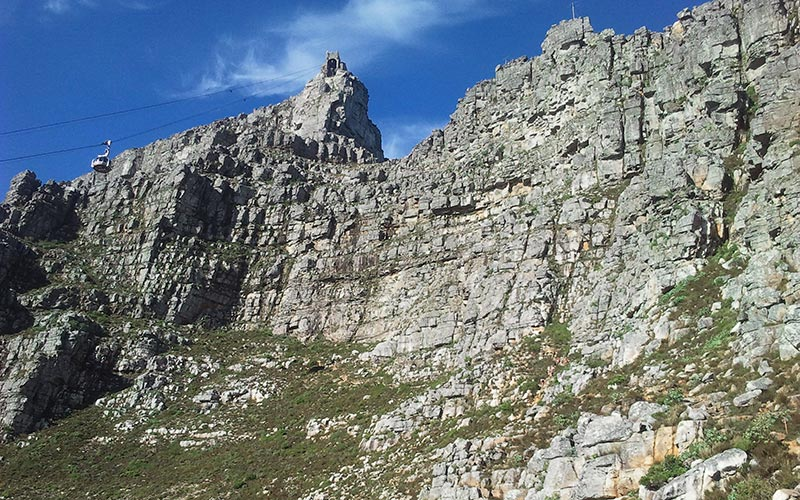 Table Mountain – Africa Face – Injured climbing guide and party rescued
